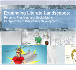 Expanding literate landscapes book cover