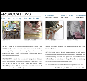 provocations cover image